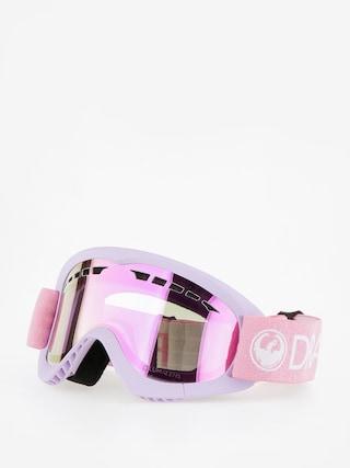 Brýle na snowboard Dragon DXS (light pink/lumalens pink ion)