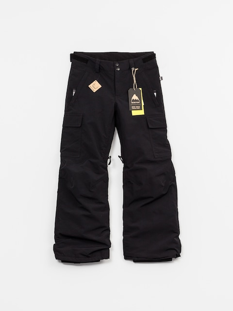 Snowboardové kalhoty  Burton Boys Exile Cargo (true black)