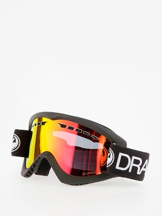 Brýle na snowboard Dragon DX (black/lumalens red ion)