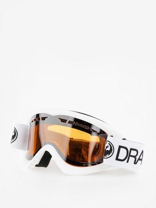 Bru00fdle na snowboard Dragon DX (white/lumalnes silver ion)