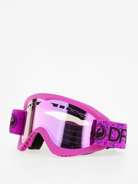 Brýle na snowboard Dragon DX (violet/lumalens pink ion)