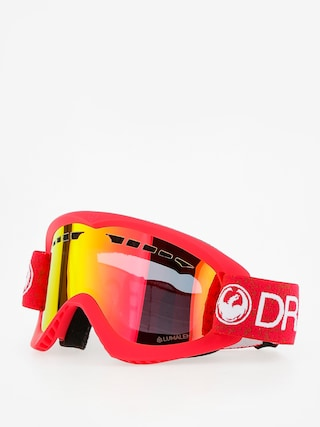Brýle na snowboard Dragon DX (red/lumalens red ion)