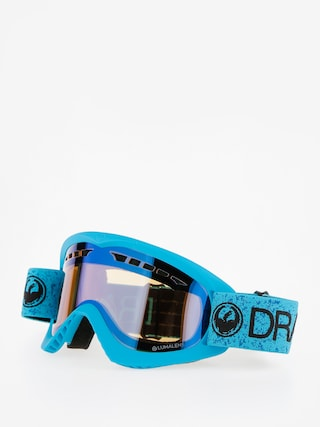 Brýle na snowboard Dragon DX (blue/lumalens flash blue)