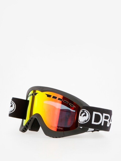 Brýle na snowboard Dragon DXS (black/lumalens red ion)