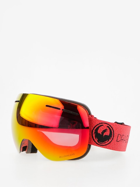 Brýle na snowboard Dragon X1s (mill/lumalens red ion/l rose)