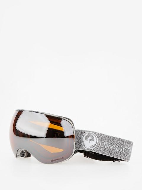 Brýle na snowboard Dragon X2 (mill/lumalens silver ion/dark smoke)