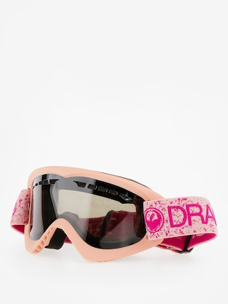 Brýle na snowboard Dragon DX (pink/dark smoke)