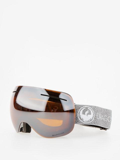 Brýle na snowboard Dragon X1 (mill/lumalens silver ion/dark smoke)