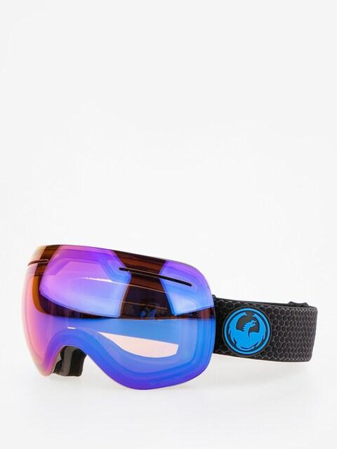 Brýle na snowboard Dragon X1 (split/lumalens blue ion/l amber)