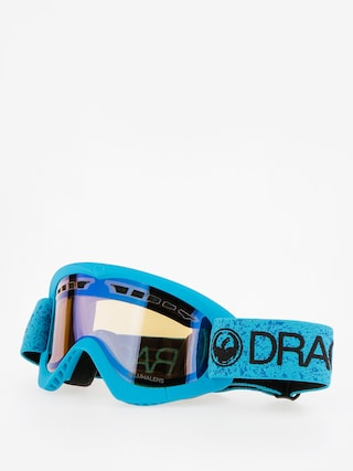 Brýle na snowboard Dragon DXS (blue/lumalens flash blue)