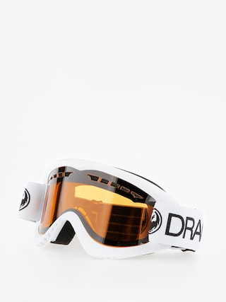 Bru00fdle na snowboard Dragon DX (white/lumalens amber)