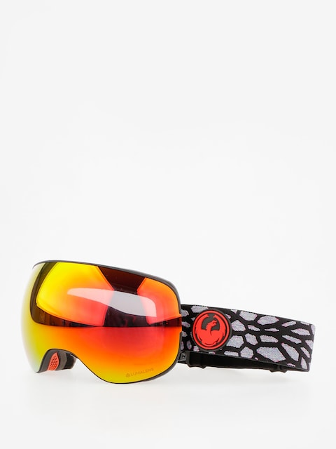 Brýle na snowboard Dragon X2 (olio/lumalens red ion/l rose)