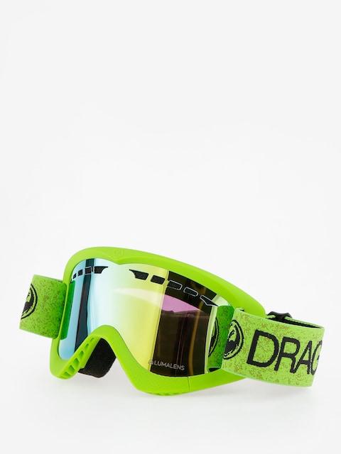 Brýle na snowboard Dragon DXS (green/lumalens gold ion)