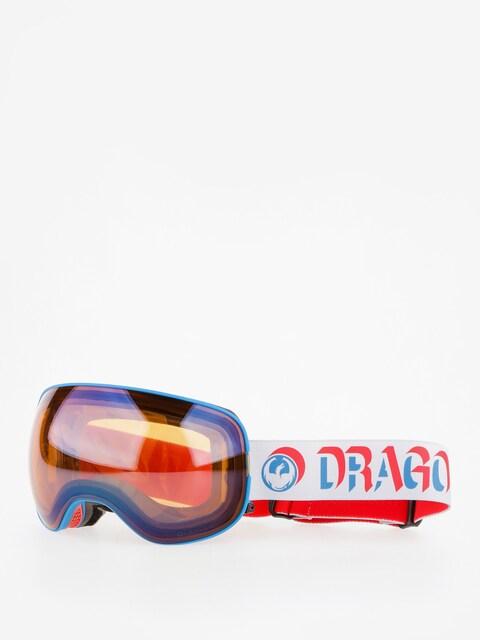 Brýle na snowboard Dragon X2 (verge/lumalens flash blue/dark smoke)
