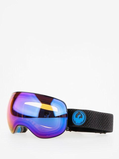 Brýle na snowboard Dragon X2 (split/lumalens blue ion/l amber)