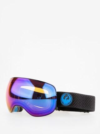 Bru00fdle na snowboard Dragon X2 (split/lumalens blue ion/l amber)