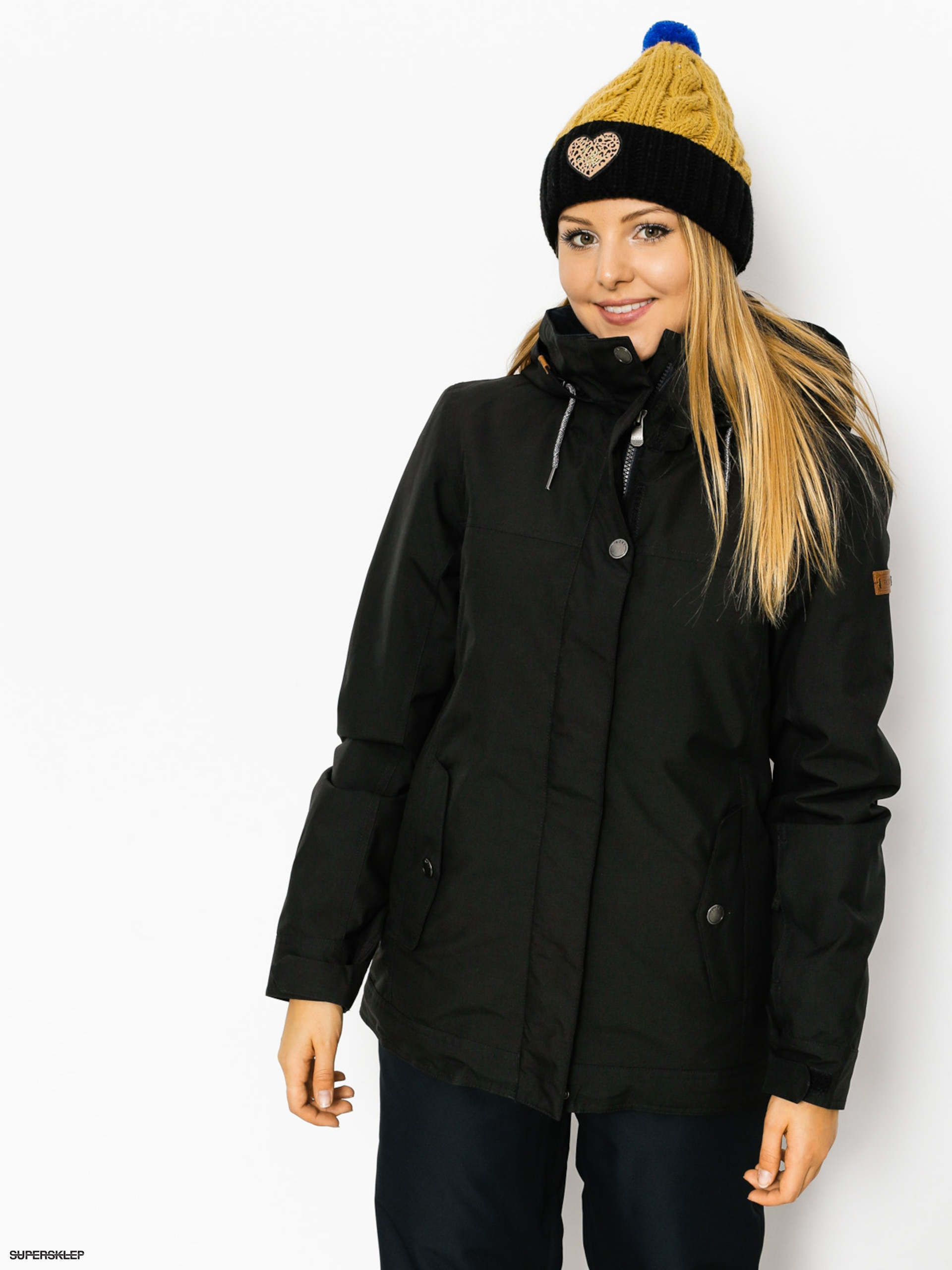 Snowboardová bunda Roxy Billie Wmn (true black)