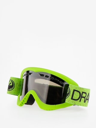 Brýle na snowboard Dragon DXS (green/dark smoke)