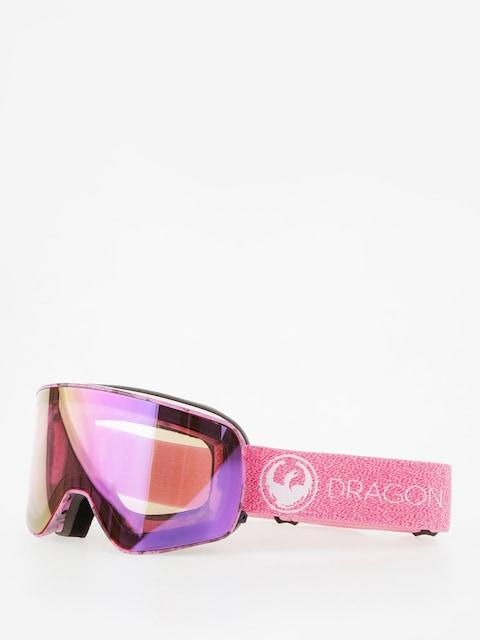 Brýle na snowboard Dragon NFX2 (mill lumalens pink ion/dark smoke)