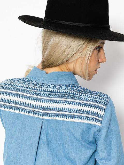 Košile Roxy Lightdown Wmn (medium blue)