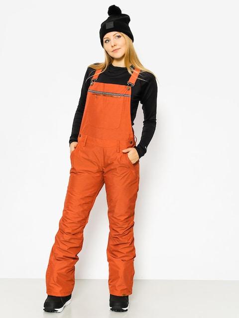 Snowboardové kalhoty  Roxy Non Stop Bib Wmn (rooibos tea)