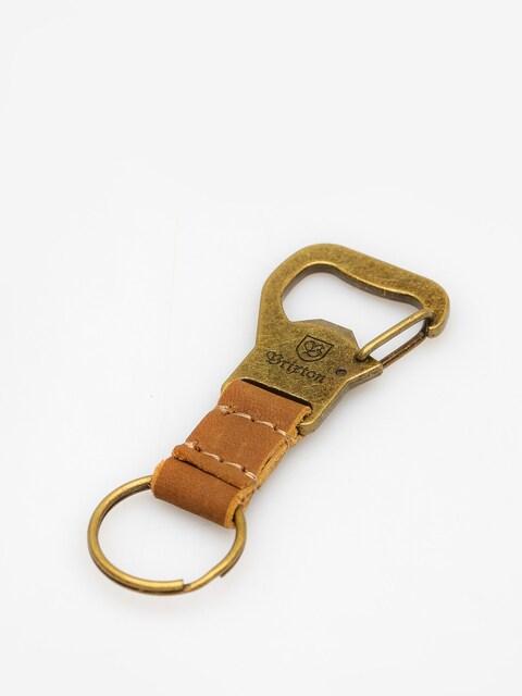 Klíčenka Brixton Kassik Key Clip (antique bronze)