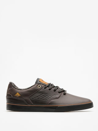 Boty Emerica The Reynolds Low Vulc (dark brown)