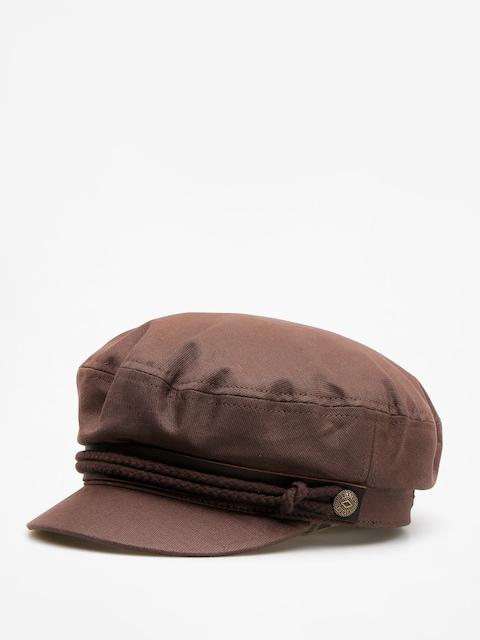 Klobouk s kšiltem Brixton Fiddler ZD (brown cord)