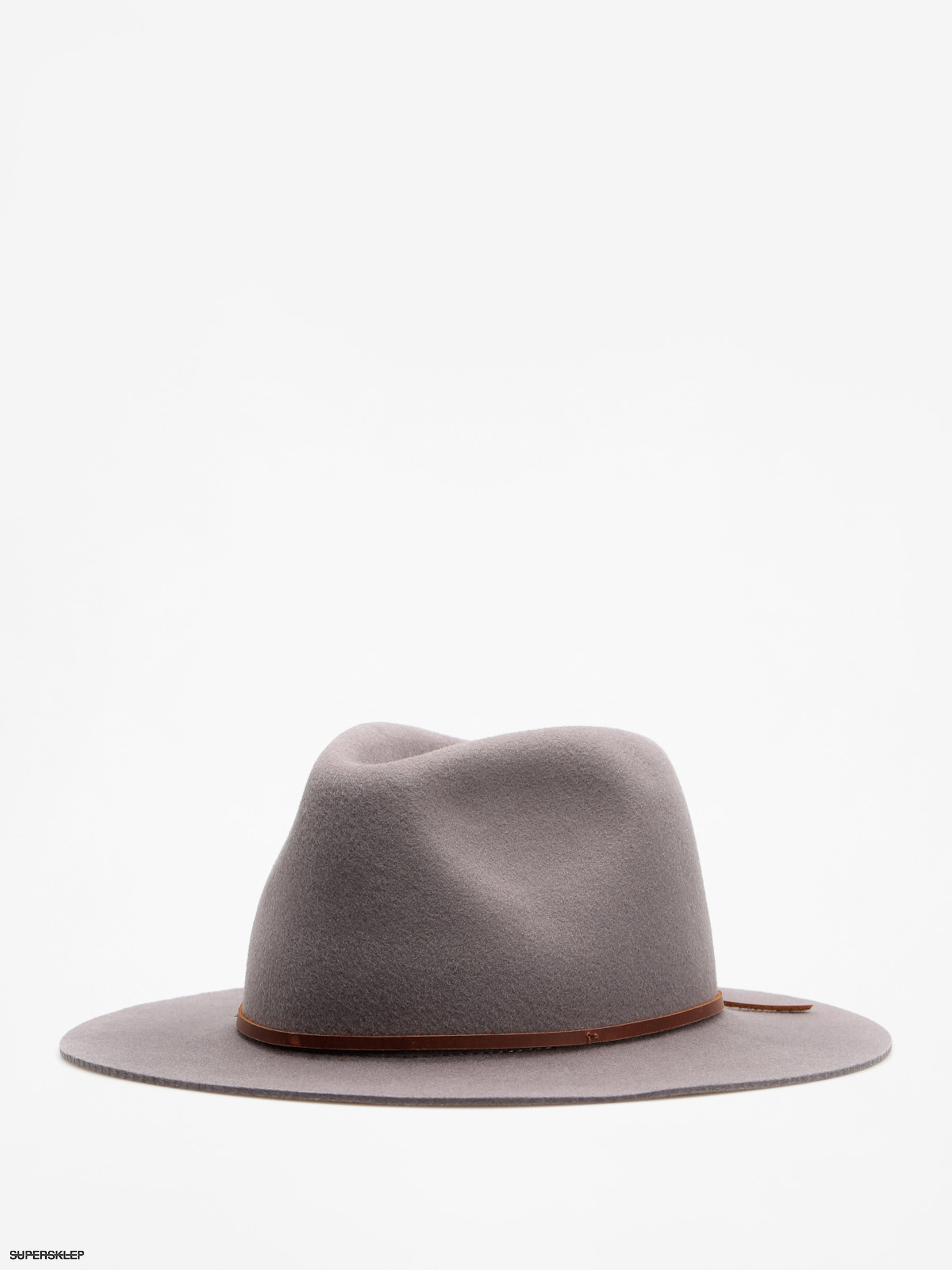 Klobouk Brixton Wesley Fedora (light grey)