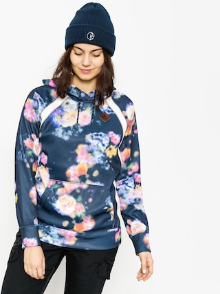 Mikina s kapucí Burton Heron HD Wmn (prism floral)