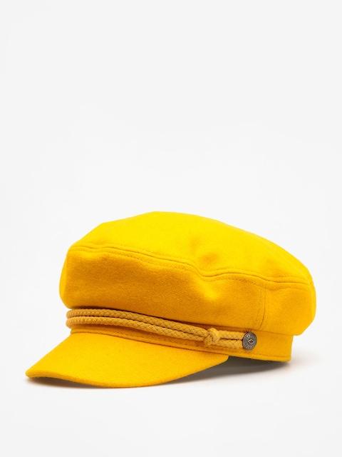 Klobouk s kšiltem Brixton Bosmanka Ashland Wmn (mustard)
