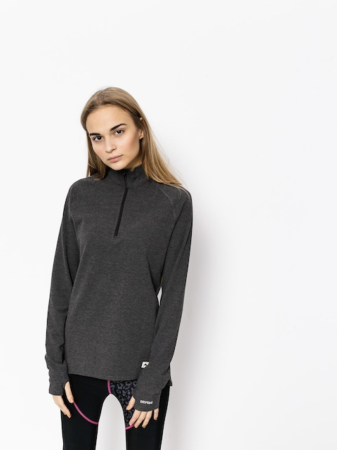 Termotriko Burton Expedition 1/4 Zip Wmn (true black heather)
