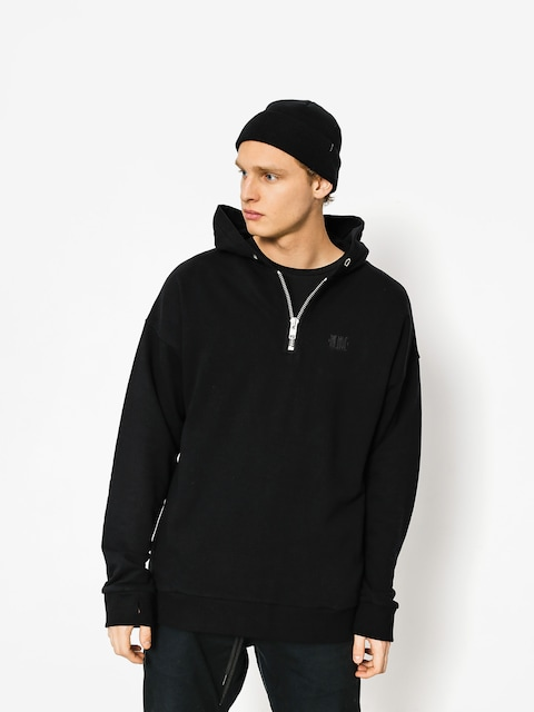 Mikina s kapucí The Hive Zip Henley HD (black)
