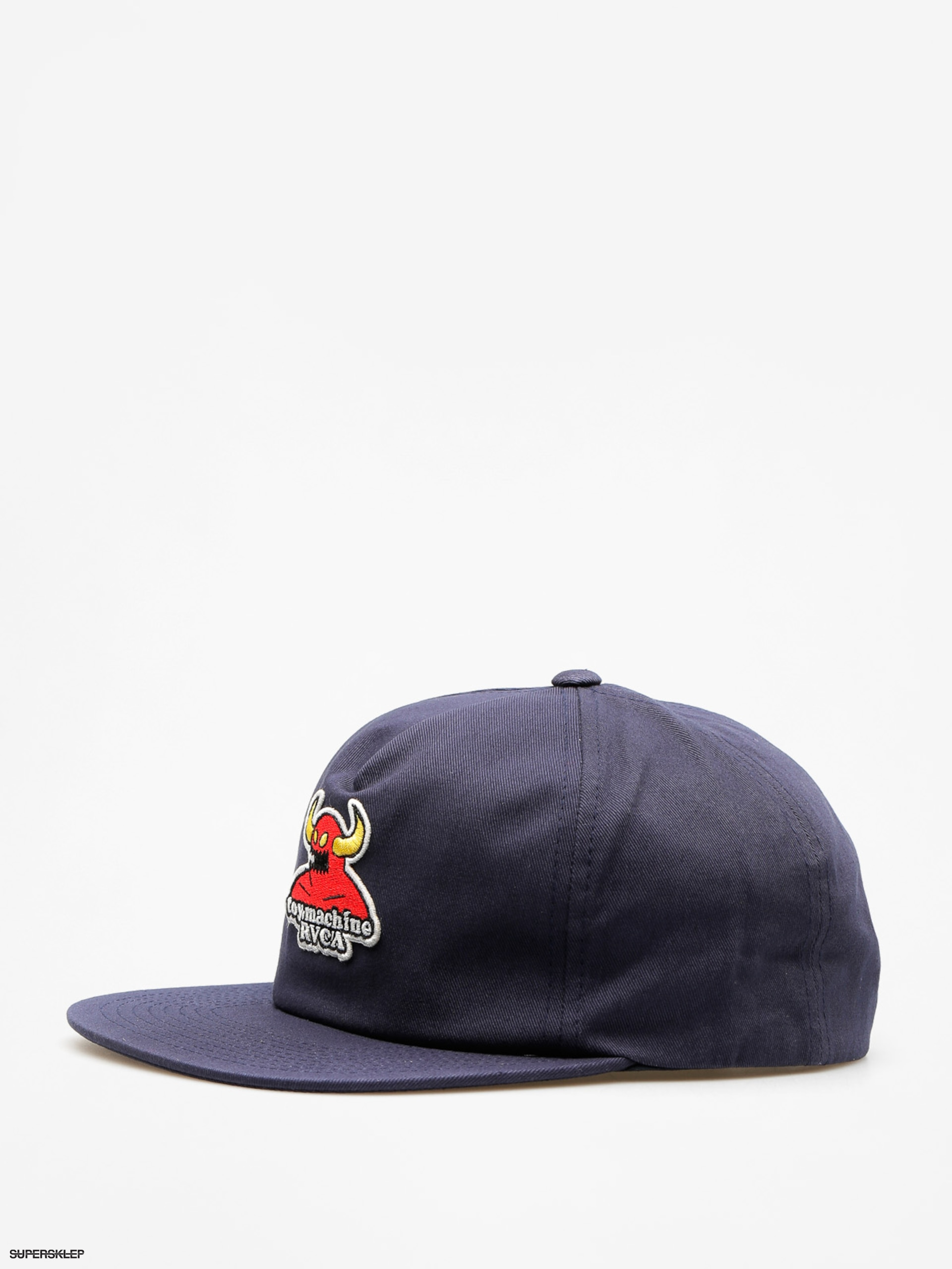 Kšiltovka  RVCA Toy Machine Snapback (navy)