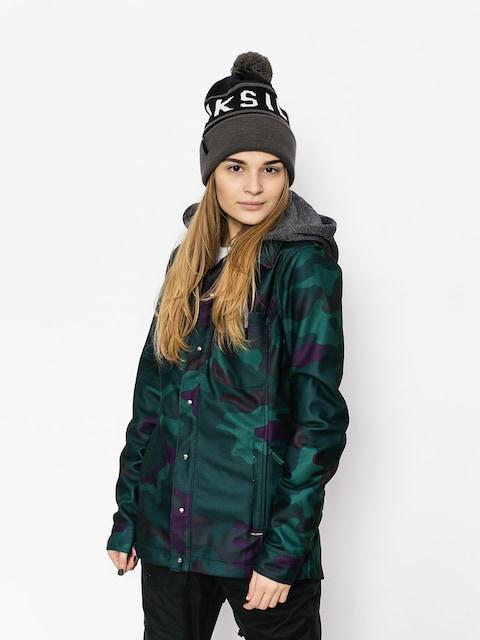 Bunda snowboardová Volcom Circle Flannel Wmn (dca)