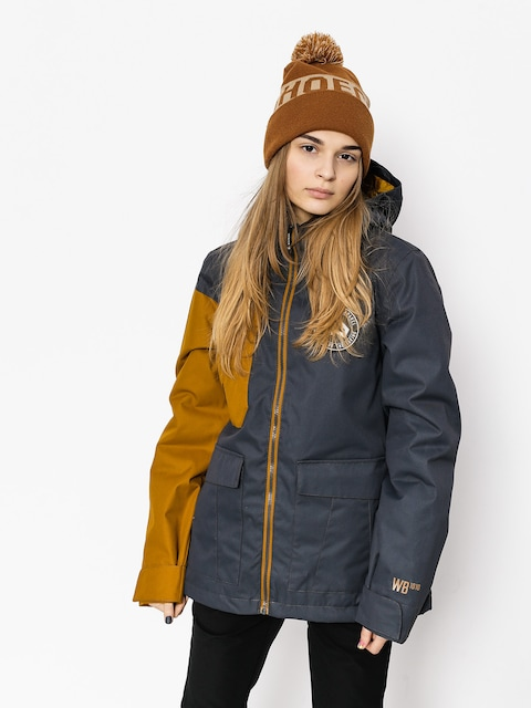 Snowboardová bunda Westbeach Flux Jacket Wmn (steel/brown sugar)