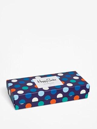Ponožky Happy Socks Giftbox 4pk (navy/blue/white)