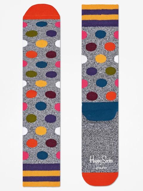 Ponožky Happy Socks Athletic Big Dot (grey/multi)