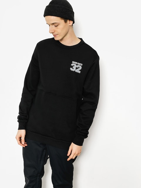 Mikina ThirtyTwo Hood Rats Team Crew (black)