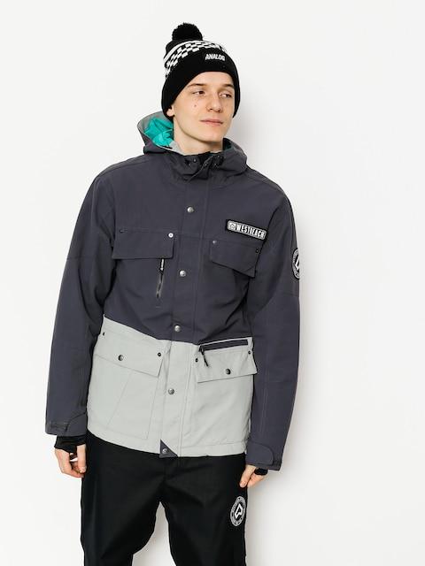 Snowboardová bunda Westbeach Trojan Jacket (steel/grey skies)