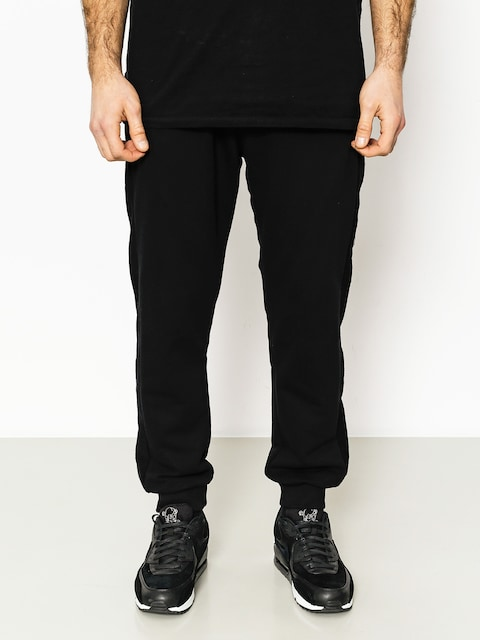 Kalhoty Backyard Cartel Cream Jogger Fit Drs (black)