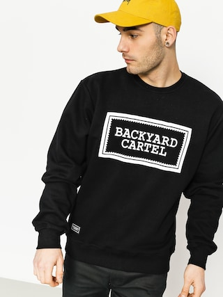 Mikina Backyard Cartel Label Logo (black)