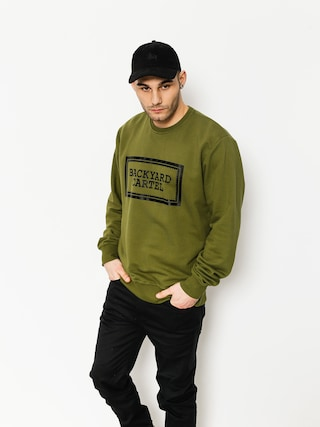Mikina Backyard Cartel Label Logo (khaki)