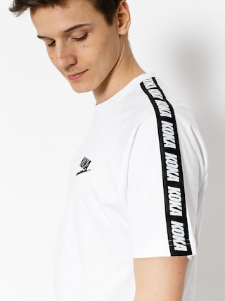 Tričko Koka Fake Tape (white)