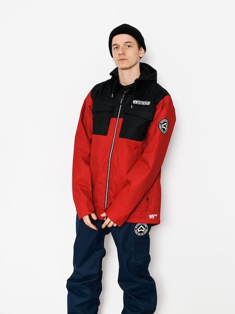 Snowboardová bunda Westbeach Dauntless Jacket (chilli red/black)
