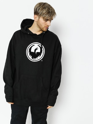 Mikina s kapucí Dragon Icon Pullover Hood Staple Line (black)
