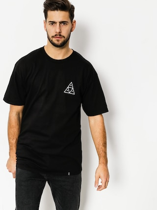 Tričko HUF Triple Triangle (black)