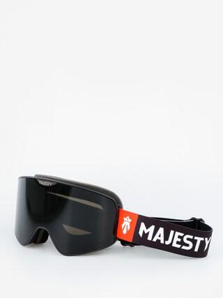 Brýle na snowboard Majesty The Force (black/black pearl lens citrine spare lens)