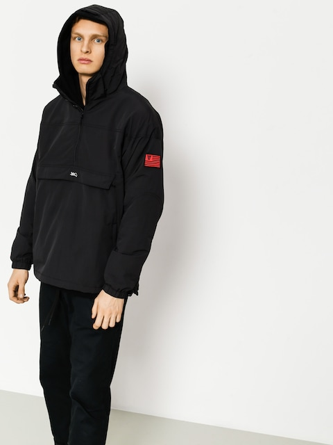 Bunda K1x Lw Urban Hooded Halfzip (black)
