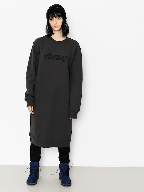 Šaty  Stussy Archers Fleece Wmn (black)